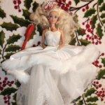 Happy Holidays Barbie 1989