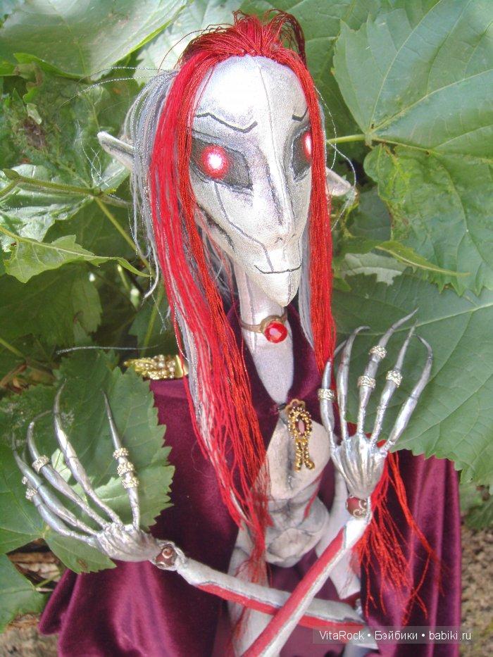 трансформеры, VitaRock, текстильно-шарнирная кукла