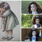 Qu'est-ce que c'est? кес кё сэ? что это? Антикварная кукла Schoenau & Hoffmeister 5500 DEP