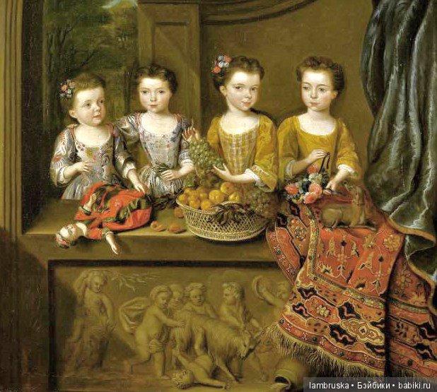 1718 ,Ван Мейер,дочери сэра Мэттью Деккера