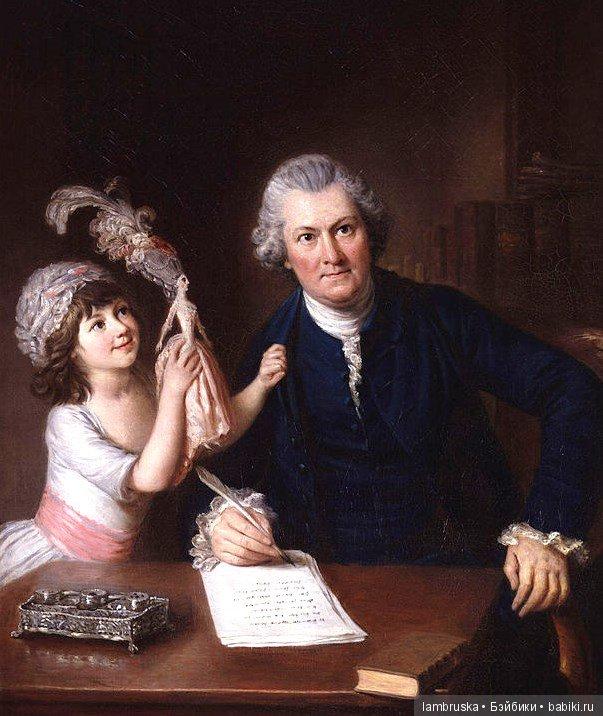 1776 ,Уильям Хоар ,Кристофер Энсти с дочерью