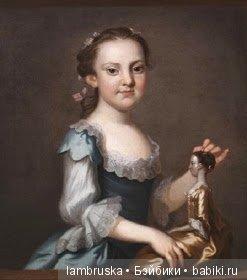 1755, Джон Волластон(американский живописец) ,Элизабет Рэндольф