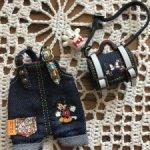 Комбез и сумочка для пукифи, лати, меловушек, кукол 16 см
