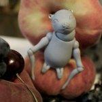 Летучая мышка. Шарнирная кукла