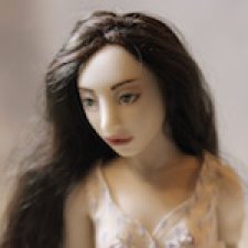 Авторская фарфоровая кукла от W Arts