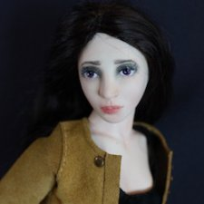 OOAK Бруклин. Авторская шарнирная кукла