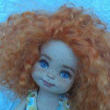 Нюша. Рыжее чудо! ООАК шарнирной куколки от  Роберта Тоннера
