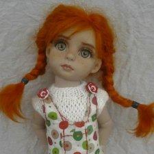 Веснушка. ООАК куколки от Роберта Тоннера