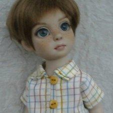 Мой славный мальчуган. ООАК куколки от Роберта Тоннера. Петси