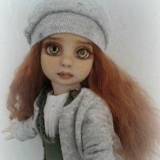 Маленький воробушек.ООАК куколки Петси от Р.Тоннер