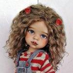 Анютка.ООАК куколки Паола Рейна.