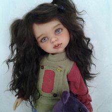 Лёлька.ООАК куколки Паола Рейна.
