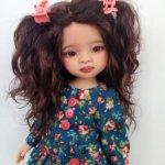 Лилу.ООАК куколки от Паола Рейна.