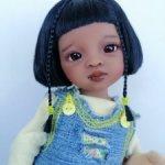 Малышка Лилу.ООАК куколки Паола Рейна.