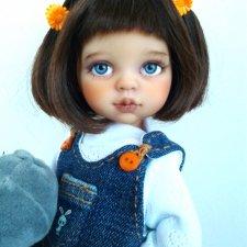 Малышка Мила.ООАК куколки от Паола Рейна.