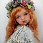 Грета.Весенняя девочка.ООАК куколки Паола Рейна.