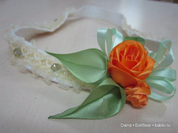 """Ободок """"Розы"""""""