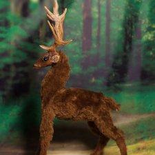 Авторская игрушка Олень Дух Леса