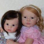 Малышки реборн Лика и Диана!