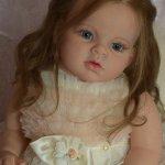 Моя первая большая девочка реборн Ариша
