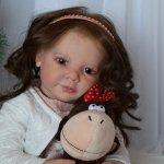 Камиллочка, кукла реборн от Анастасии Оаевой