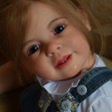 Малышка-реборн Виктория от Оаевой Анастасии