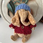 Авторский тедди-слон