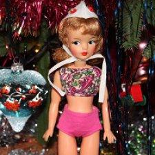 "Аутфит Тамми / Tammy Outfit ""Beach Party Swim Suit"" 1963"