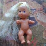 Пупсик из сета Mermaid Skipper and sea twins 1993 год
