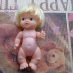 Винтажный Пупс (блондин)  Baby PeeWee by Uneeda Toys