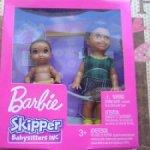 Набор (№1) Barbie Skipper babysitter Inc мальчик+малыш 2018 год