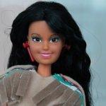 Кукла Тотси 90-х Indian Princess