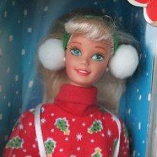 Кукла Барби Caroling Fun 1995 год / Новая в коробке