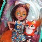 Кукла Лиса с питомцем Enchantimals / Новая в коробке