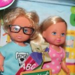 Набор кукол Еви и Тимми Школьные друзья /Новый в коробке