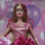 Кукла Барби Happy Birthday 2002 год /Новая в коробке