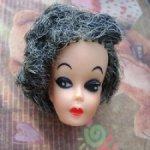 Голова винтажной куклы (#2)