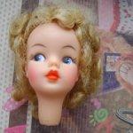 Голова Тамми / Tammy by Ideal toys 1962 год