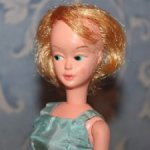 Кукла Винтажная Мэри / Mary Make Up Face Tressy Friend Doll, 1960е