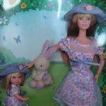 Пасхальный Сет Барби и Келли Easter Bunny Fun 1998 год