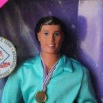 Кен шарнирный Olympic Skater 1997 год / Новый в коробке