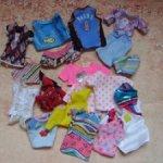 Разные футболки, топы для Барби
