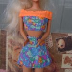 Комплект (голубой) маттел для Барби