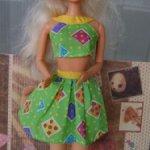 Комплект Салатовый mattel для Барби
