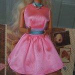 Платье  розовое mattel для Барби