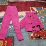 Костюм розовый для Барби