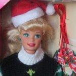 Барби Holiday season barbie 1996 год / Новая в коробке
