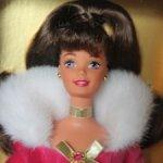 Барби Winter Rhapsody Barbie (Брюнетка) 1996 / Новая в коробке