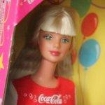 Барби Макки Coca Cola Party 1998 / Новая в коробке