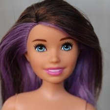 Кукла Скиппер #2 с сиреневой прядью